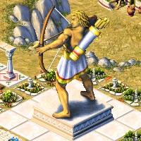 grande statue apollon