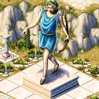 grande statue artemis