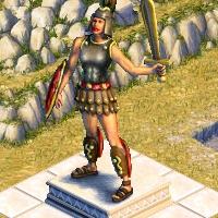 grande statue athenas
