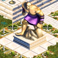 grande statue atlas