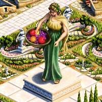 grande statue demeter