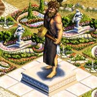 grande statue hephaistos