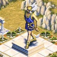 grande statue hermes