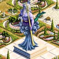 grande statue poseidon
