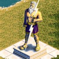 grande statue zeus