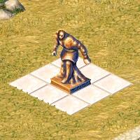 petite statue atlas